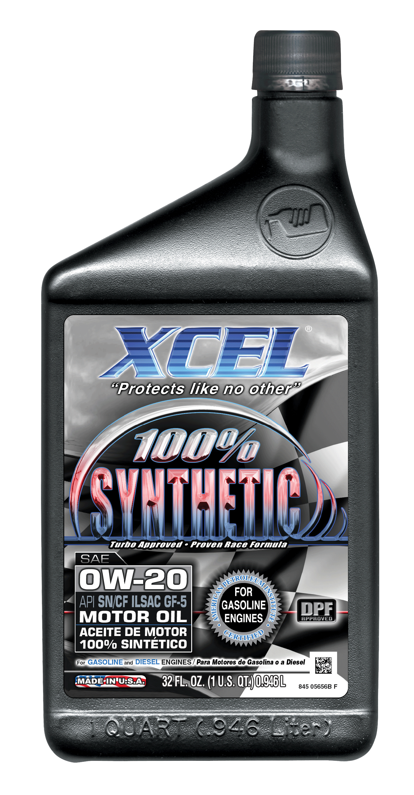 Xcel lubricants 100 synthetic for Synthetic motor oil for diesel engines
